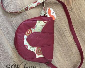 Mini Crossbody purse, handmade purse, birthdau gift