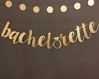 Bachelorette Banner / Bachelorette Party Decorations/ Bachelorette Party/ Bridal Shower/Bachelorette Decorations