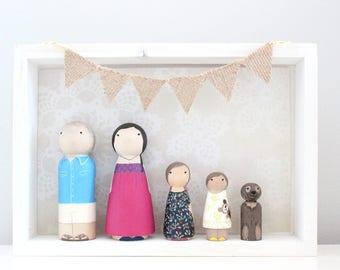 Mini Me Custom Family of 5