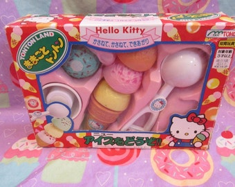 30% OFF! 1996 Vintage Sanrio Hello Kitty Ice Cream Scoop Tontonland Toy