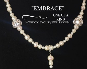 Embrace Necklace and Earrings