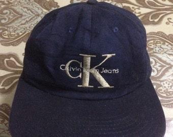 Vintage CK Calvin Klein Jeans Cap Hat