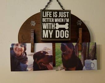 Dog Photo Holder