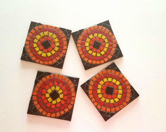 Coasters. Artisian mosaic coasters