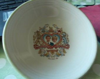 vintage charles and di saucer and key ring collectors  FREE P & P