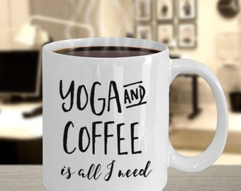 Yoga Mug - Yoga Coffee Mug