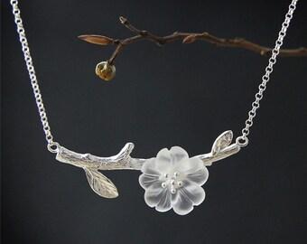 925 sterling silver bracelet flowers rain