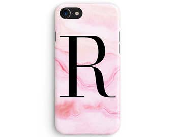 Custom name pink marble - iPhone X case, iPhone 8 case, iPhone 8 Plus, iPhone 7 case, Samsung Galaxy Note 8 case 1C188