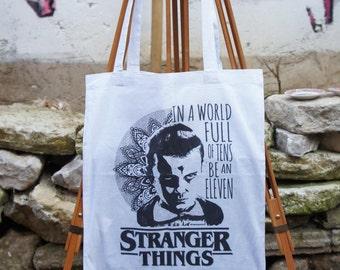 Tote Bag Stranger Things Mandala