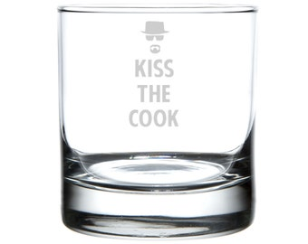 Breaking Bad Tribute, Laser Etched Barware