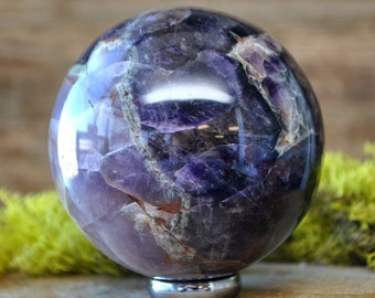 Amethyst Crystal Sphere Ball -  1063.02