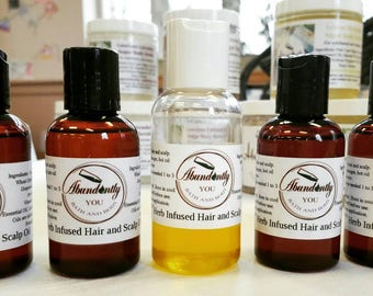 Herbal Infused Hair and Scalp Oil