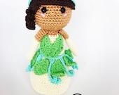 Princess tiana crochet pa...