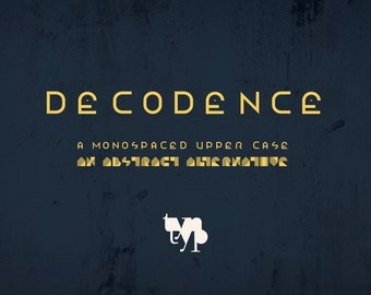 Decodence Typeface