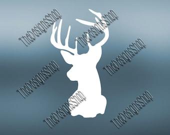 Deer Buck Doe Hunting Browning Design File SVG | Cricut Explore Design Space Designs |  Svg Dxf PDF SCAL | Silhouette Studio  Cut File |268