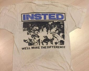 "INSTED ""We'll Make The Difference"" T-shirt."