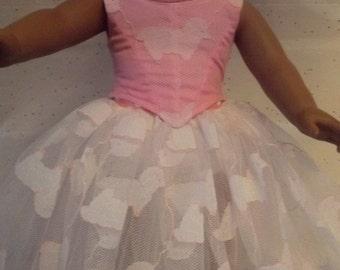 "18"" american Handmade Doll Dress ballerina TuTu"