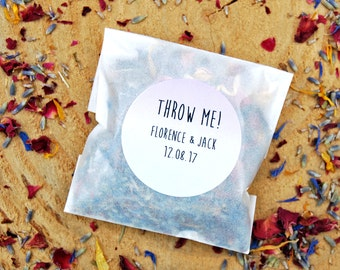 10 Real flower confetti, biodegradable confetti, personalised confetti, wedding confetti, eco wedding, eco confetti, flower petals, petals