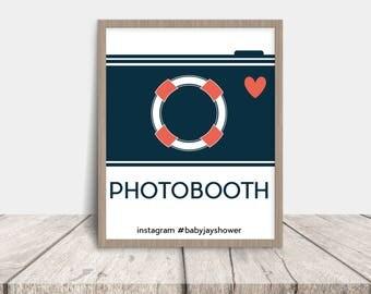 nautical printable photobooth sign - Crayola Sign