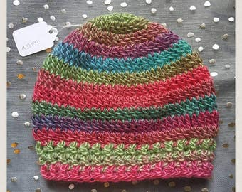 Unique Self-Striping Beanie