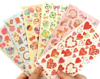 Foil Pearlescent Sticker Sets