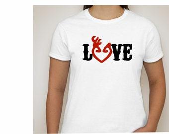 Browning LOVE T-shirt- Ladies T-shirt