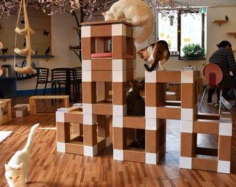 Pet Bloc/ Cat Furniture/ Cat Tree/ Cat Tower / Pet Furniture / Cat