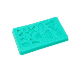 Silicone Mold - SMALL LEAVES