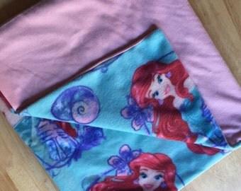 Little Mermaid baby blanket
