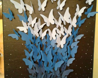 Butterfly dreams (paper butterflies)