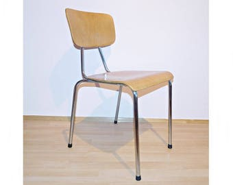 Stacking Chair 60/70 he years chrome steel
