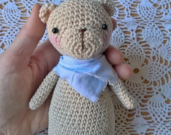Amigurumi Teddy Bear - Orsetto amigurumi - Nursery decoration - Decorazione per la cameretta - Teddy Bear - Crochet bear