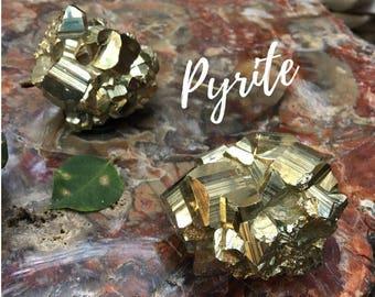 Pyrite Crystal Stone