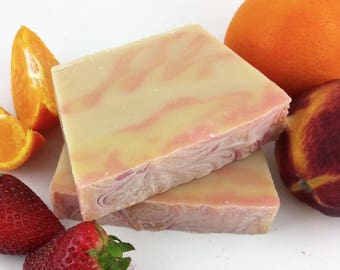Manchurian Soap - Bar Soap - Fruity Soap - Bath Soap - Gift for Her - Handmade Soap - CP Soap -Palm Free Soap -Coconut Free Soap -Gift Ideas
