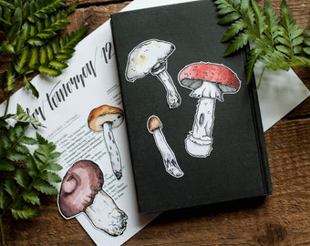 Mushroom Sticker Set