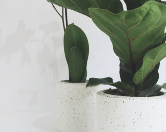 Concrete Planter Large | Concrete Pot | Organiser | Concrete Storage