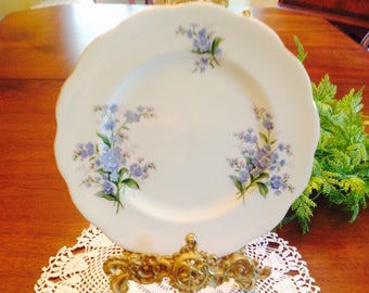 Royal Albert forgetme not salad plate