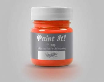 "Painting ""Paint It"" Rainbow Dust - Orange - 25ml"