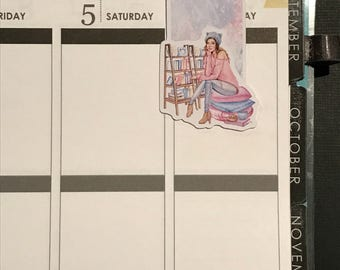 Bookworm Bookmark: read the days away
