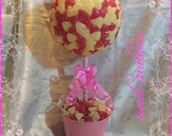 Jelly bean heart candy sweet tree
