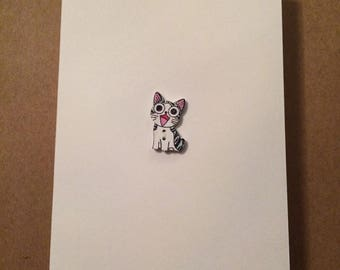 Friendship Card | Blank Card ~ Happy Kitty 1 ~ By Clair Lam