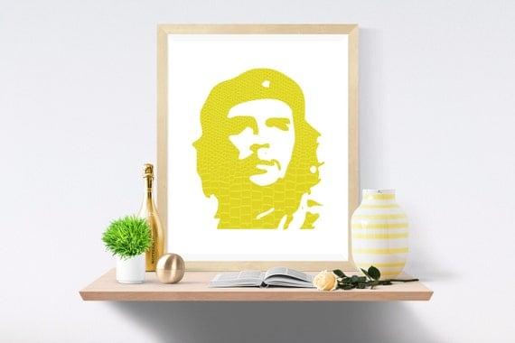 Che, Che Guevara, Che Wall Decor, Che Print, Che Art Print, Che Poster Print, Che Poster, Wall Art, Dorm Poster, Che Digital Art
