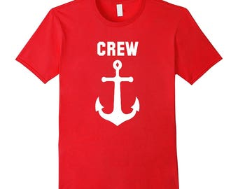 Yacht Crew T Shirt all sizes & colors