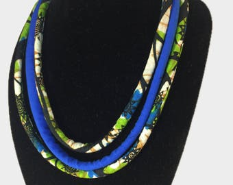 Ankara Rope Necklace