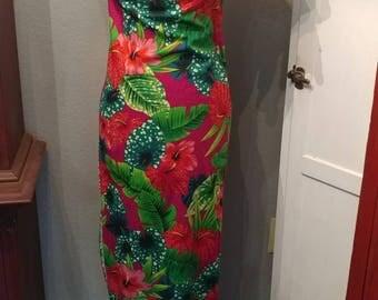 Vintage Hawaiian luha dress