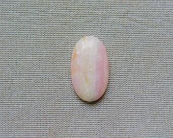 Peruvian Pink Opal Gemstone Cabochon
