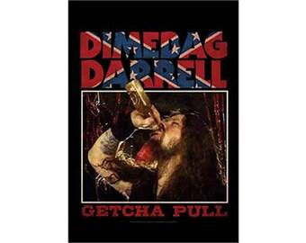 Pantera - Dimebag - Getcha Pull - Fabric Poster
