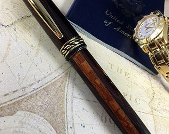 Custom Rollerball Pen.  A one of a kind Olympian!