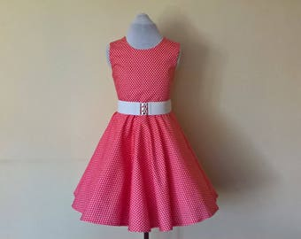 girls rockabilly dress