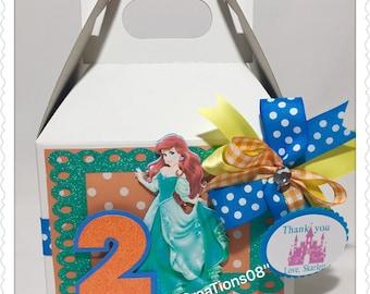 6 Princess Ariel Treats Boxes